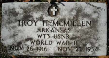 MCMILLEN  (VETERAN  WWII), TROY H - Faulkner County, Arkansas | TROY H MCMILLEN  (VETERAN  WWII) - Arkansas Gravestone Photos