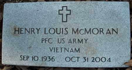 MCMORAN  (VETERAN VIET), HENRY LOUIS - Faulkner County, Arkansas | HENRY LOUIS MCMORAN  (VETERAN VIET) - Arkansas Gravestone Photos