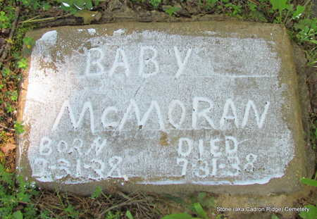 MCMORAN, BABY - Faulkner County, Arkansas | BABY MCMORAN - Arkansas Gravestone Photos