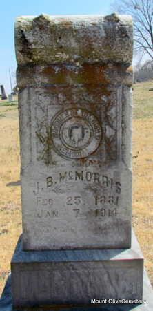 MCMORRIS, J.B. - Faulkner County, Arkansas | J.B. MCMORRIS - Arkansas Gravestone Photos