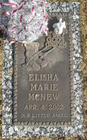 MCNEW, ELISHA MARIE - Faulkner County, Arkansas | ELISHA MARIE MCNEW - Arkansas Gravestone Photos