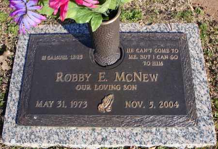 MCNEW, ROBBY E. - Faulkner County, Arkansas | ROBBY E. MCNEW - Arkansas Gravestone Photos
