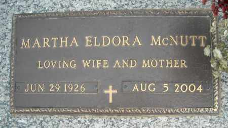 MCNUTT, MARTHA ELDORA - Faulkner County, Arkansas | MARTHA ELDORA MCNUTT - Arkansas Gravestone Photos