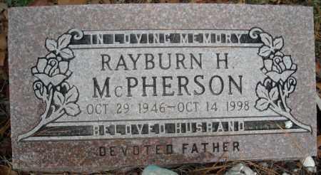 MCPHEARSON, RAYBURN H. - Faulkner County, Arkansas | RAYBURN H. MCPHEARSON - Arkansas Gravestone Photos