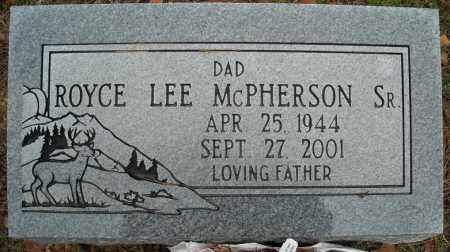 MCPHEARSON, SR., ROYCE LEE - Faulkner County, Arkansas | ROYCE LEE MCPHEARSON, SR. - Arkansas Gravestone Photos