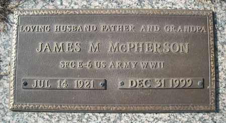 MCPHERSON (VETERAN WWII), JAMES M - Faulkner County, Arkansas | JAMES M MCPHERSON (VETERAN WWII) - Arkansas Gravestone Photos