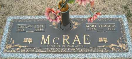 MCRAE, MARY VIRGINIA - Faulkner County, Arkansas | MARY VIRGINIA MCRAE - Arkansas Gravestone Photos