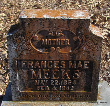 MEEKS, FRANCES MAE - Faulkner County, Arkansas | FRANCES MAE MEEKS - Arkansas Gravestone Photos