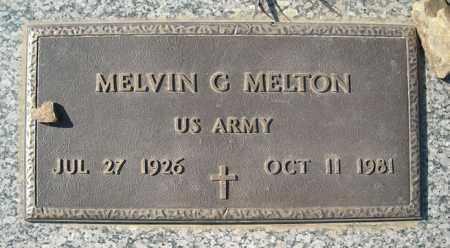 MELTON (VETERAN), MELVIN G - Faulkner County, Arkansas | MELVIN G MELTON (VETERAN) - Arkansas Gravestone Photos