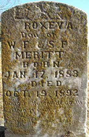 MERITT, ROXEY A. - Faulkner County, Arkansas | ROXEY A. MERITT - Arkansas Gravestone Photos