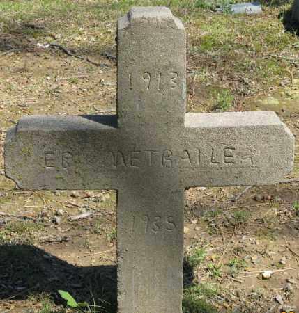 METRAILER, E. B. - Faulkner County, Arkansas | E. B. METRAILER - Arkansas Gravestone Photos