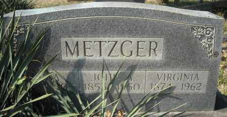 METZGER, DONA - Faulkner County, Arkansas | DONA METZGER - Arkansas Gravestone Photos