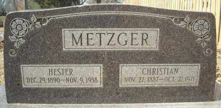 METZGER, CHRISTIAN - Faulkner County, Arkansas | CHRISTIAN METZGER - Arkansas Gravestone Photos