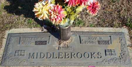 MIDDLEBROOKS, ROY B. - Faulkner County, Arkansas | ROY B. MIDDLEBROOKS - Arkansas Gravestone Photos