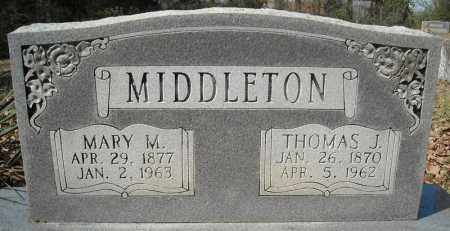 MIDDLETON, THOMAS J. - Faulkner County, Arkansas | THOMAS J. MIDDLETON - Arkansas Gravestone Photos