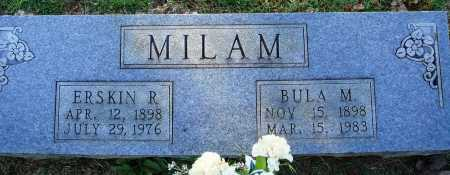 MILAM, BULA M. - Faulkner County, Arkansas | BULA M. MILAM - Arkansas Gravestone Photos