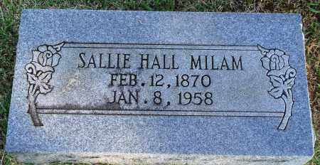 HALL MILAM, SALLIE - Faulkner County, Arkansas | SALLIE HALL MILAM - Arkansas Gravestone Photos