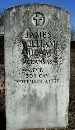 MILAM (VETERAN), JAMES WILLIAM - Faulkner County, Arkansas | JAMES WILLIAM MILAM (VETERAN) - Arkansas Gravestone Photos