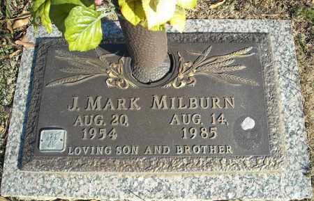 MILBURN, J. MARK - Faulkner County, Arkansas | J. MARK MILBURN - Arkansas Gravestone Photos