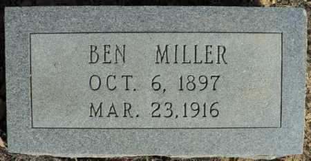 MILLER, BEN - Faulkner County, Arkansas | BEN MILLER - Arkansas Gravestone Photos