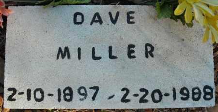 MILLER, DAVE - Faulkner County, Arkansas | DAVE MILLER - Arkansas Gravestone Photos