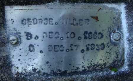 MILLER, GEORGE - Faulkner County, Arkansas | GEORGE MILLER - Arkansas Gravestone Photos