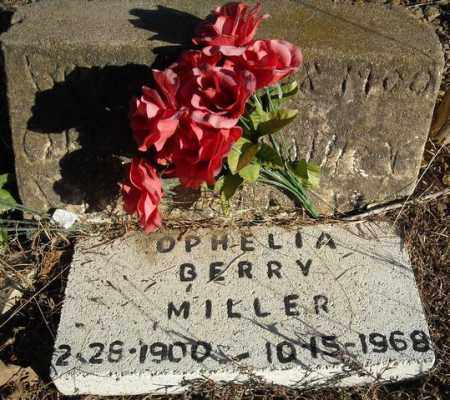 BERRY MILLER, OPHELIA - Faulkner County, Arkansas | OPHELIA BERRY MILLER - Arkansas Gravestone Photos