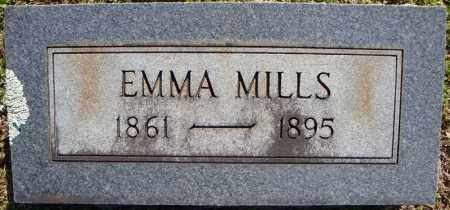 MILLS, EMMA - Faulkner County, Arkansas | EMMA MILLS - Arkansas Gravestone Photos