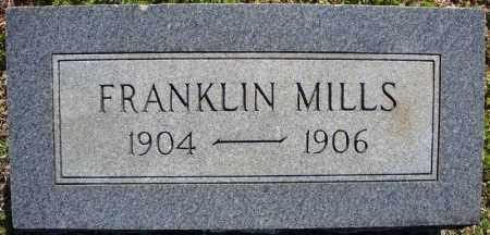 MILLS, FRANKLIN - Faulkner County, Arkansas | FRANKLIN MILLS - Arkansas Gravestone Photos