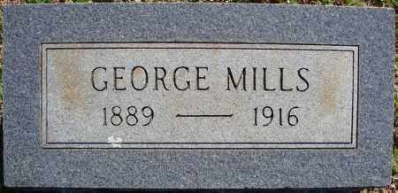 MILLS, GEORGE - Faulkner County, Arkansas | GEORGE MILLS - Arkansas Gravestone Photos