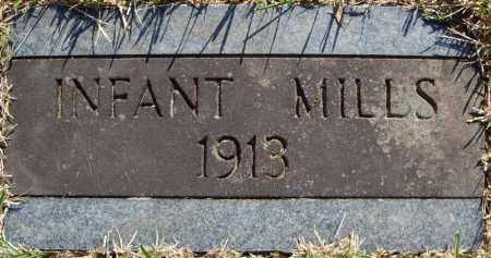 MILLS, INFANT (1913) - Faulkner County, Arkansas | INFANT (1913) MILLS - Arkansas Gravestone Photos
