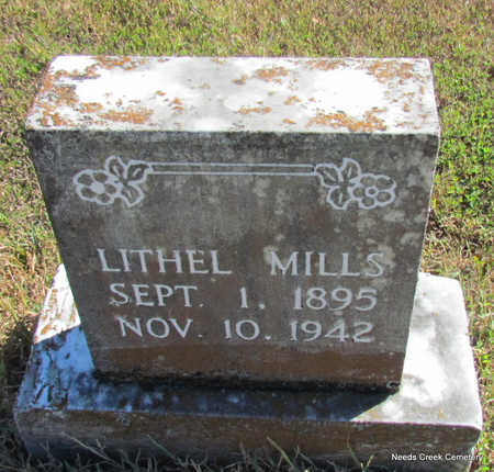 MILLS, LITHEL - Faulkner County, Arkansas | LITHEL MILLS - Arkansas Gravestone Photos