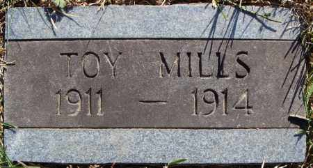 MILLS, TOY - Faulkner County, Arkansas | TOY MILLS - Arkansas Gravestone Photos