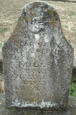 MILLS, WILMA BERNELL - Faulkner County, Arkansas | WILMA BERNELL MILLS - Arkansas Gravestone Photos