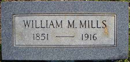 MILLS, WILLIAM M. - Faulkner County, Arkansas | WILLIAM M. MILLS - Arkansas Gravestone Photos
