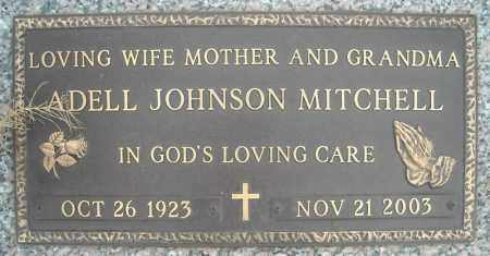 JOHNSON MITCHELL, ADELL - Faulkner County, Arkansas | ADELL JOHNSON MITCHELL - Arkansas Gravestone Photos