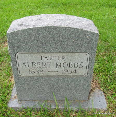 MOBBS, ALBERT - Faulkner County, Arkansas | ALBERT MOBBS - Arkansas Gravestone Photos