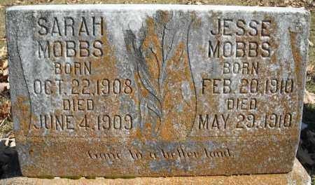 MOBBS, JESSE - Faulkner County, Arkansas | JESSE MOBBS - Arkansas Gravestone Photos
