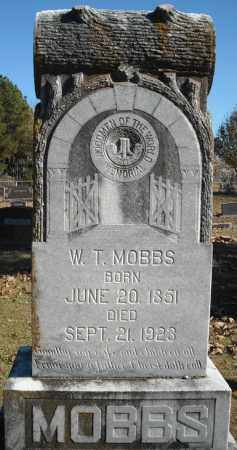 MOBBS, W.T. - Faulkner County, Arkansas | W.T. MOBBS - Arkansas Gravestone Photos