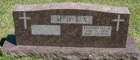 MOIX, ELIZABETH A - Faulkner County, Arkansas | ELIZABETH A MOIX - Arkansas Gravestone Photos