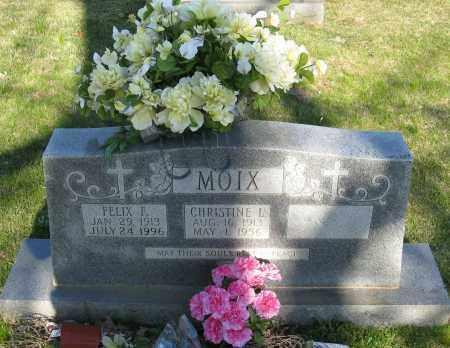 MOIX, FELIX F. - Faulkner County, Arkansas | FELIX F. MOIX - Arkansas Gravestone Photos
