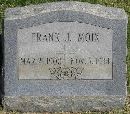 MOIX, FRANK J. - Faulkner County, Arkansas | FRANK J. MOIX - Arkansas Gravestone Photos