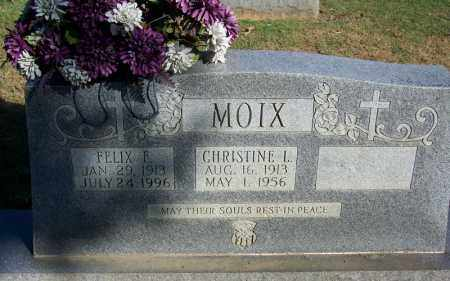 MOIX, CHRISTINE L - Faulkner County, Arkansas | CHRISTINE L MOIX - Arkansas Gravestone Photos