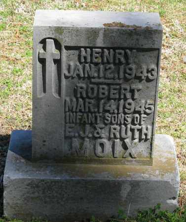 MOIX, ROBERT - Faulkner County, Arkansas | ROBERT MOIX - Arkansas Gravestone Photos