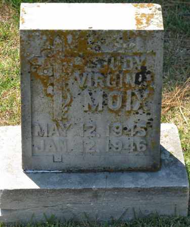 MOIX, JUDY VIRGINIA - Faulkner County, Arkansas | JUDY VIRGINIA MOIX - Arkansas Gravestone Photos