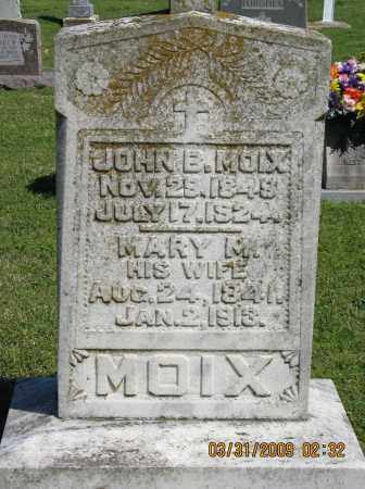 MOIX, JOHN B. - Faulkner County, Arkansas | JOHN B. MOIX - Arkansas Gravestone Photos