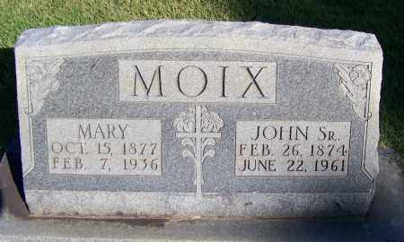 MOIX, SR., JOHN - Faulkner County, Arkansas | JOHN MOIX, SR. - Arkansas Gravestone Photos