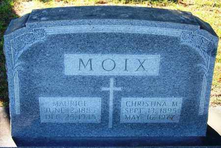 MOIX, MAURICE - Faulkner County, Arkansas | MAURICE MOIX - Arkansas Gravestone Photos