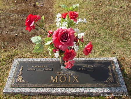 MOIX (VETERAN), NORBERT L - Faulkner County, Arkansas | NORBERT L MOIX (VETERAN) - Arkansas Gravestone Photos