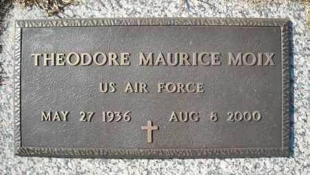 MOIX (VETERAN), THEODORE MAURICE - Faulkner County, Arkansas | THEODORE MAURICE MOIX (VETERAN) - Arkansas Gravestone Photos